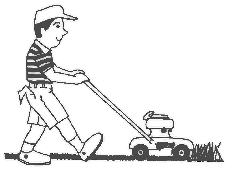 Lawnmower Boy People Children