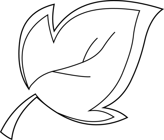 Leaves Clip Art Black And White Free Clipart Images