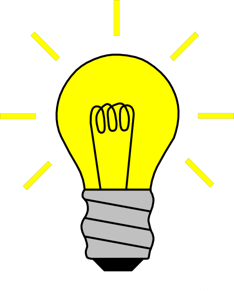 Lightbulb Thinking Clipart Free Clipart Images