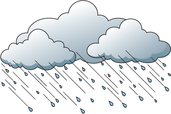 Lighting Clouds Clipart