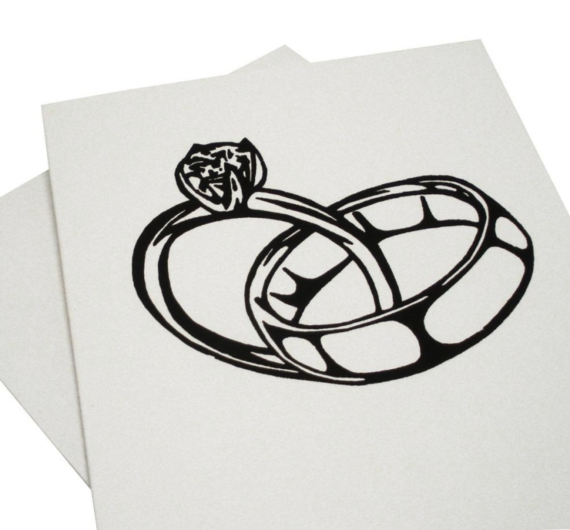 Linked Wedding Rings Clipart The Wedding Design Guide