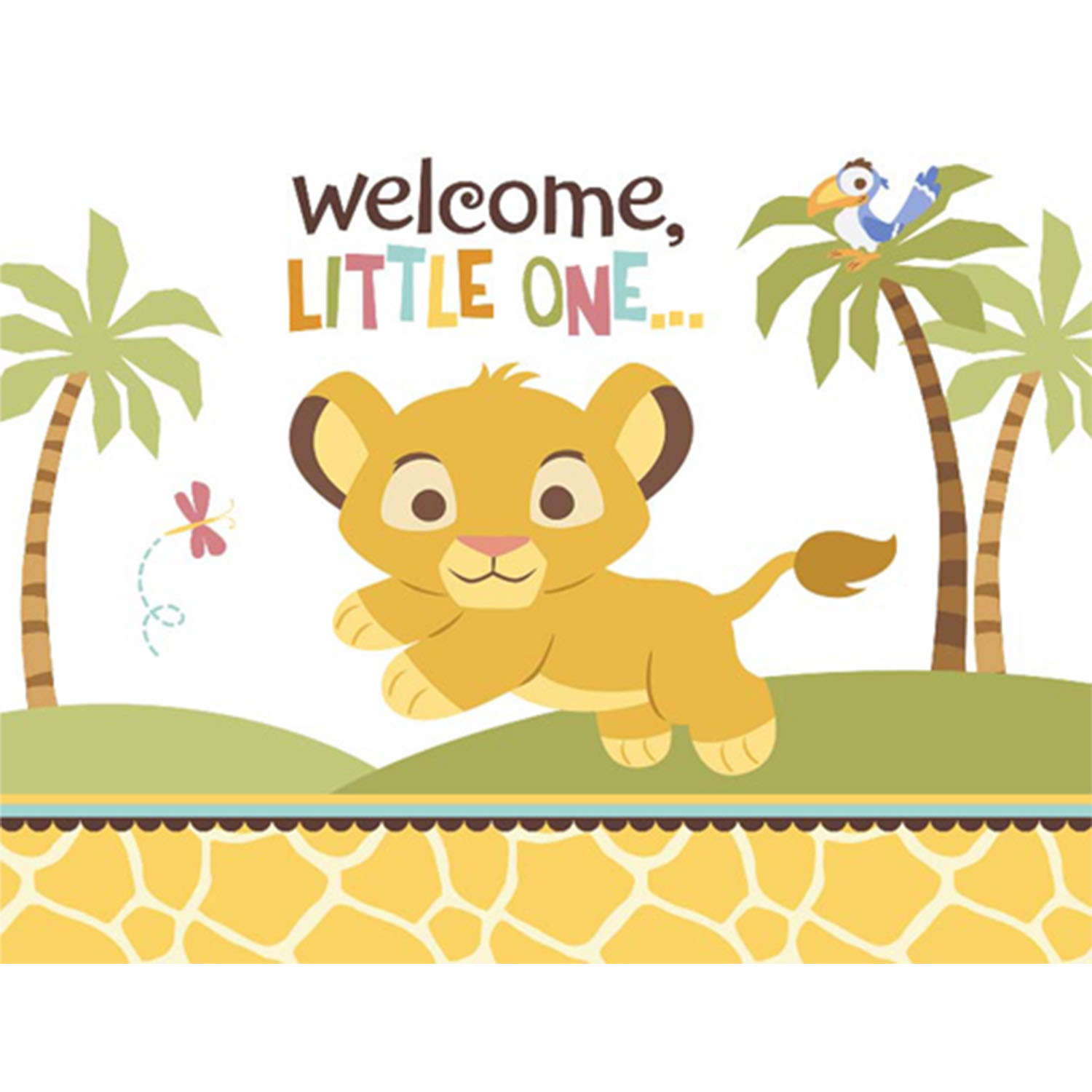 Lion Baby Shower Clipart