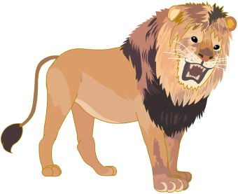Lion Clip Art Animals Cleanclipart