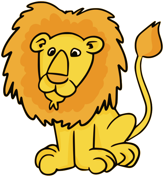 Lion Clip Art Black And White Free Clipart Images