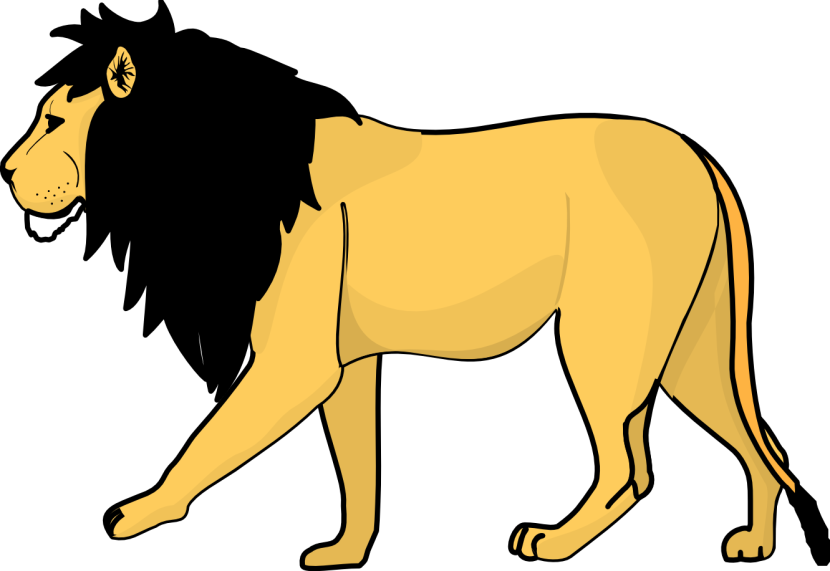 Lion Clipart One Isolated Stock Photonobacks Com