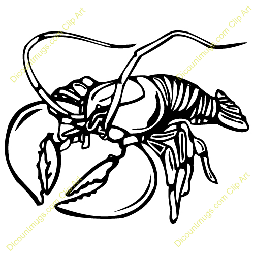 funny lobster clipart - photo #37