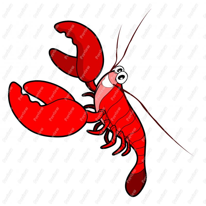 funny lobster clipart - photo #38