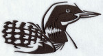 Loon Silhouette Northwoods Clipart Free Clip Art Images