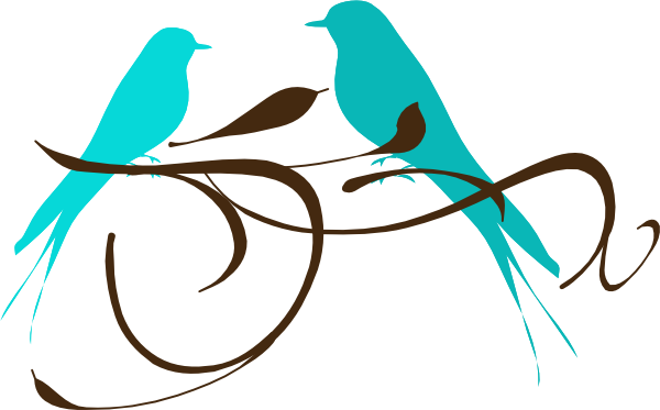 Love Birds On A Branch Clipart Free Clip Art Images