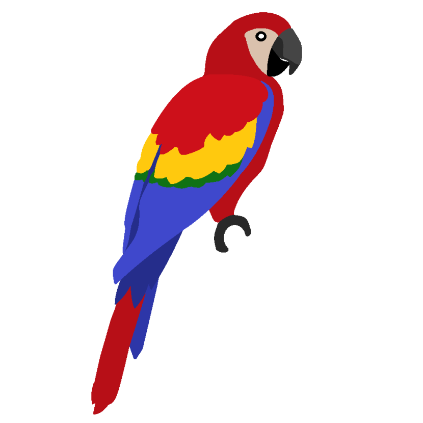 Best Parrot Clipart #16711 - Clipartion.com