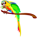 Macaw Parrot Clip Art Clipart Free Clipart