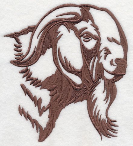 Machine Embroidery Designs At Embroidery Library Boer Goat