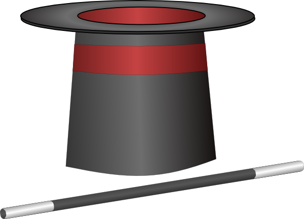 Magic Top Hat Jh Clip Art At Vector Clip Art Online