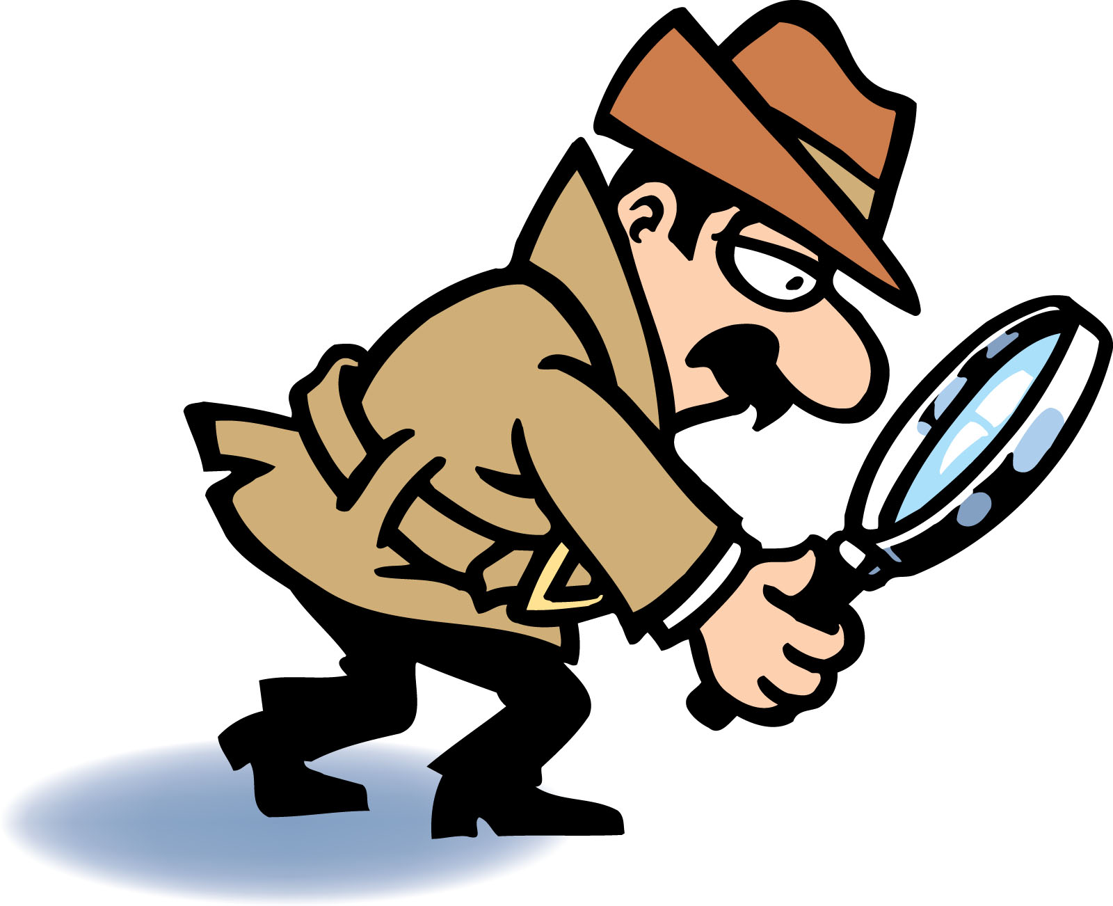 Magnifying Glass Detective Free Clipart Images