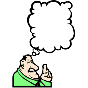 Man Thinking Clipart Gallery
