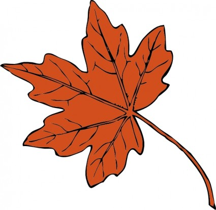 Maple Leaf Clip Art Free Vector In Open Office Drawing
