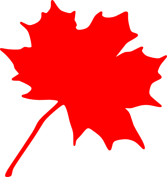 Maple Leaf Clipart Black And White Free Clipart