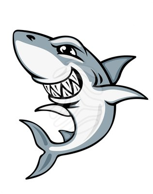 Mean Shark Clip Art Free Clipart Images