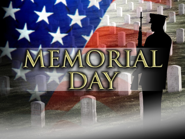 Memorial Day Shadow Soldier Clip Art