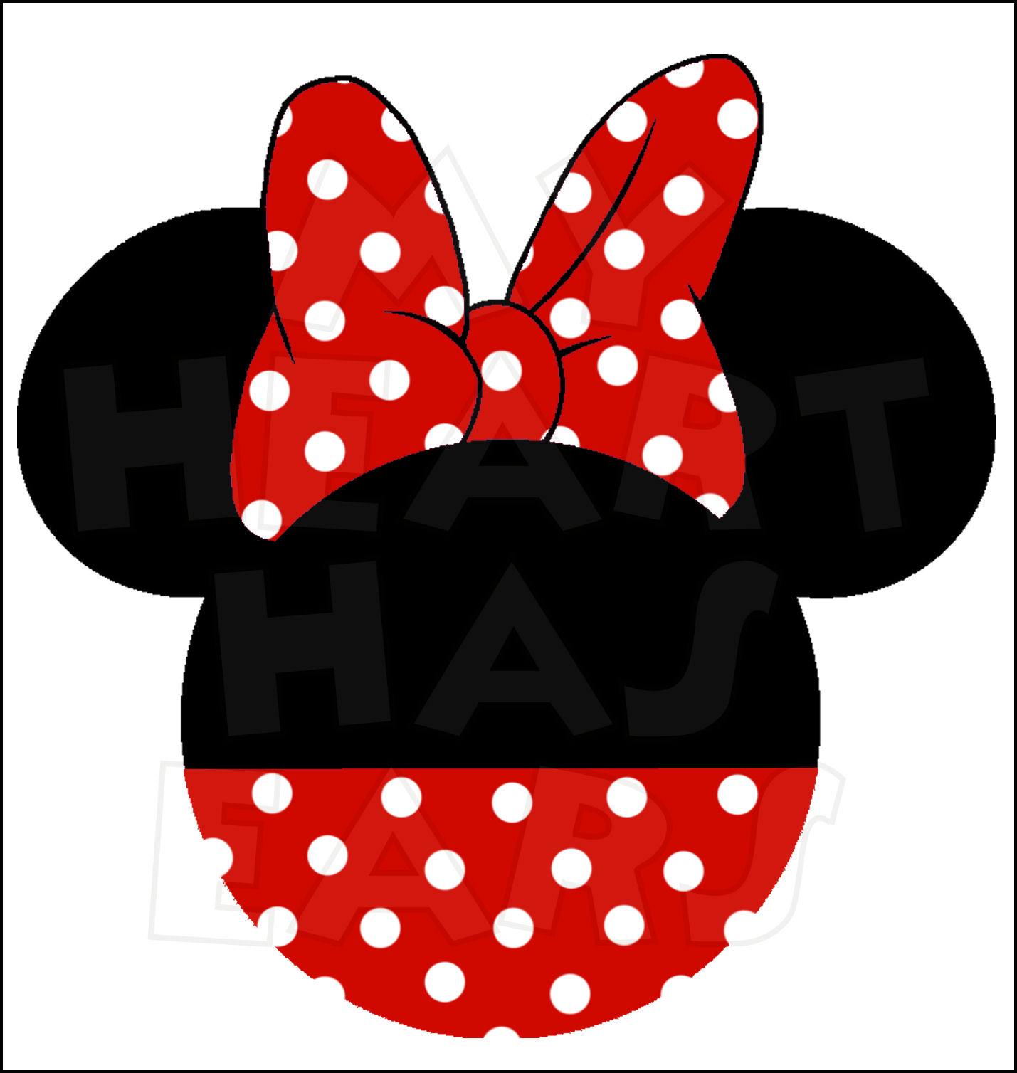 Mickey And Minnie Mouse Head Clip Art Clipart Free Clipart
