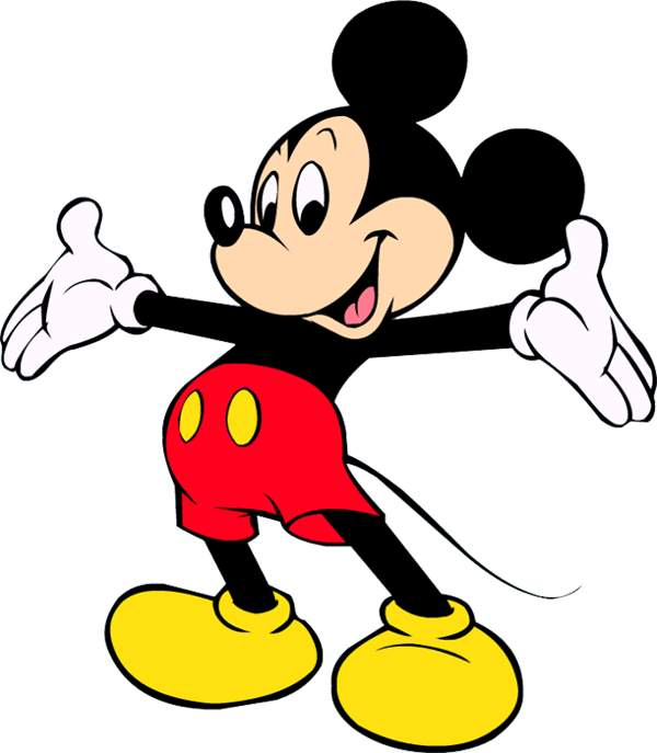 mickey mouse karate clipart - photo #24