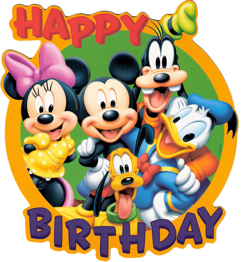 Best Disney Birthday Clipart #18380 - Clipartion.com