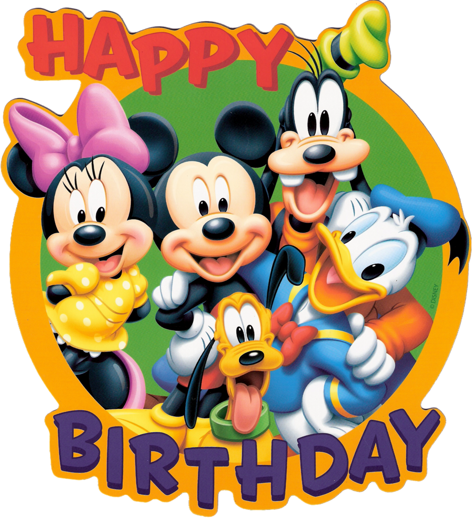 Best Disney Birthday Clipart 18391 Clipartion Com Mickey Mouse Wishing Happy Birthday