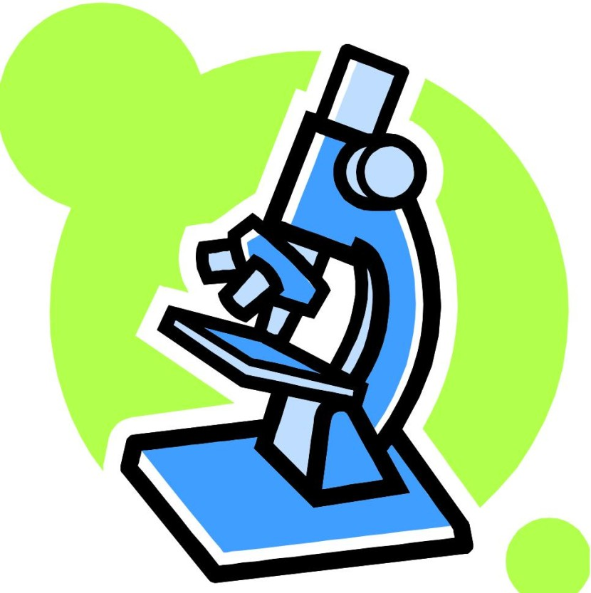 Microscope Clipart Black And White Free Clipart