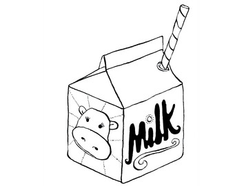 Milk Carton Clip Art - Clipartion.com