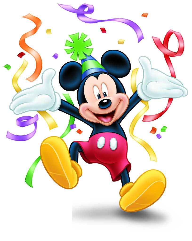 Best Mickey Mouse Birthday Clipart #18455 - Clipartion.com