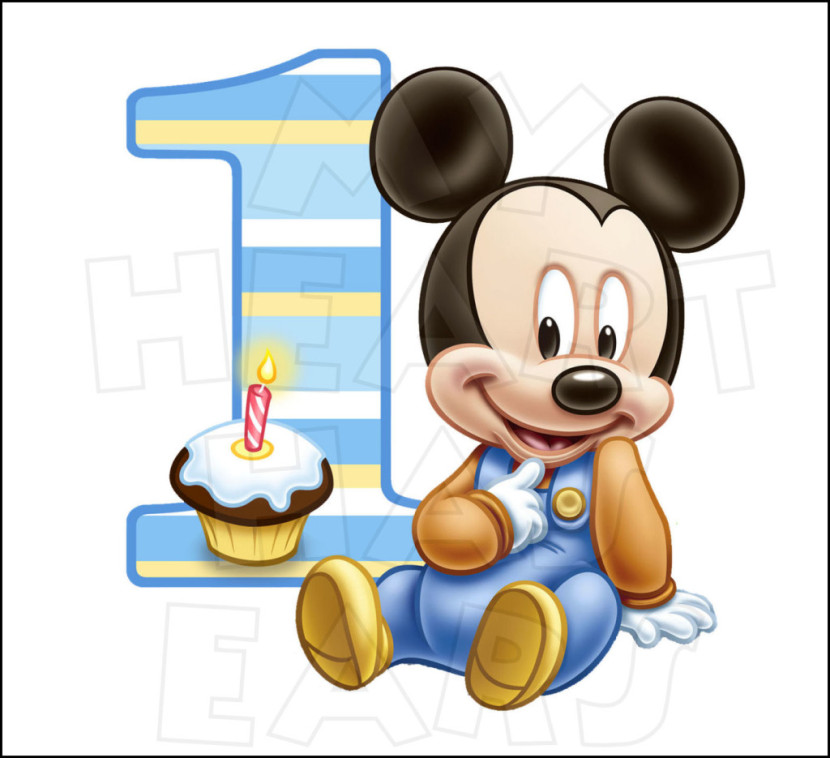 Minnie Mouse 1st Birthday Clip Art Free Clipart