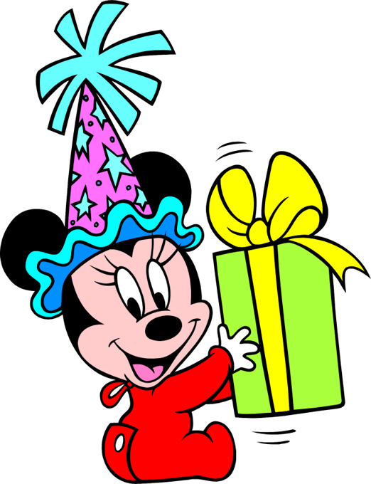 Minnie Mouse Birthday Clipart Free Clipart Images