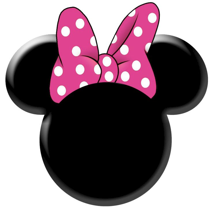 Minnie Mouse Bow Clip Art Free Clipart Images
