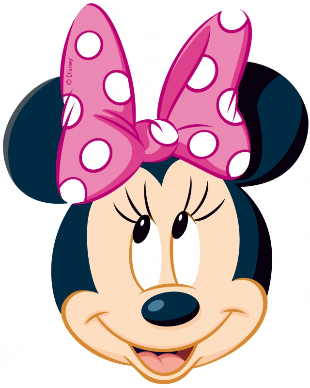 Minnie Mouse Head Clip Art Free Clipart Images