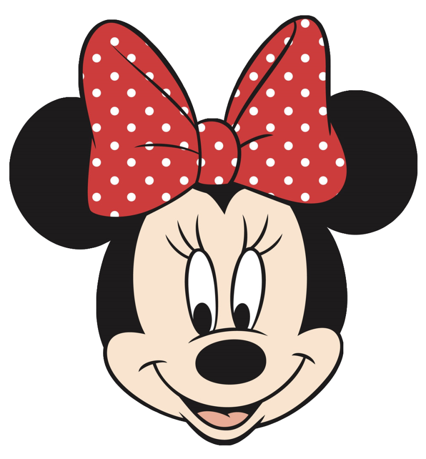 Minnie Mouse Head Cutouts