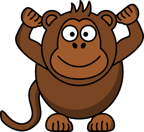 Monkey Clip Art At Vector Clip Art Online Royalty