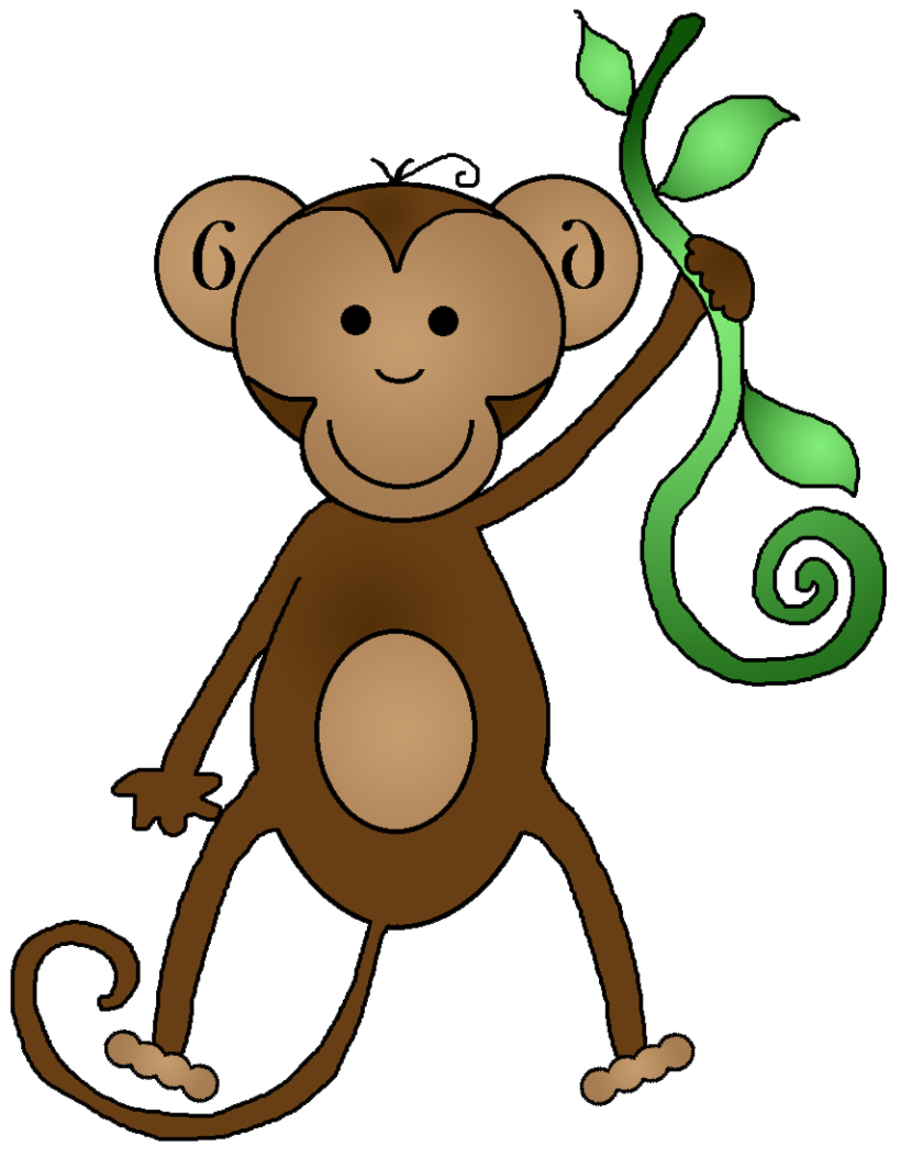 monkey clipart clipartion com monkey clip art black and white monkey clipart free