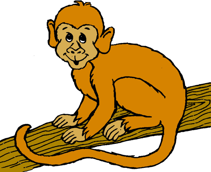 Monkey Clip Art For Baby Boy Shower Free Clipart