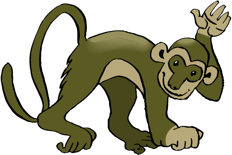 Best Monkey Clipart 15649 - Clipartioncom-9761