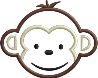 Monkey Face Clipart