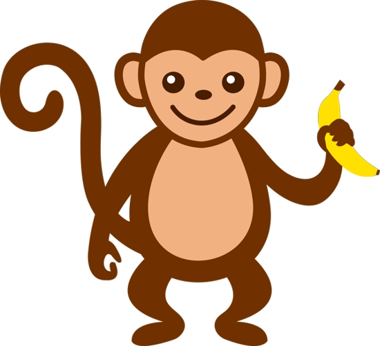 Monkey Images Clipart