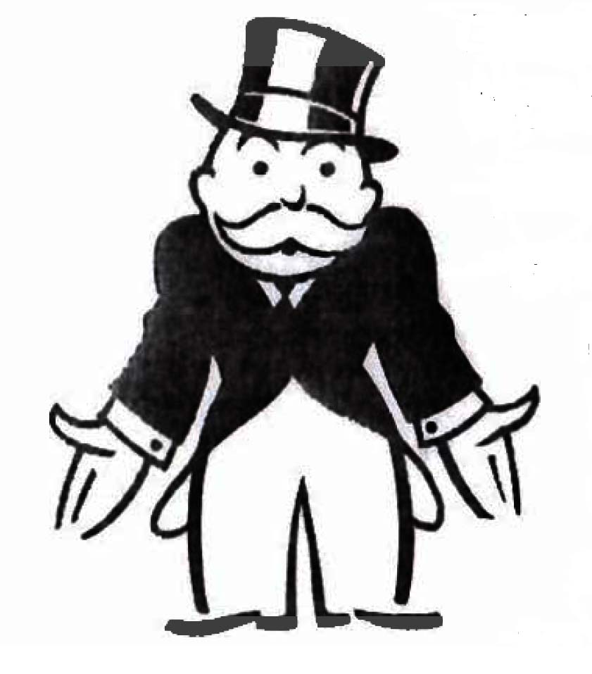 Monopoly Man Broke Clipart Free Clipart