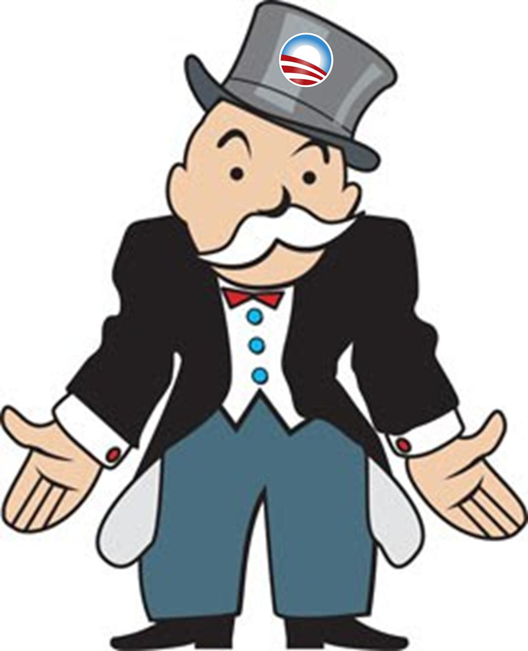 Monopoly Man With Money Clipart Free Clipart