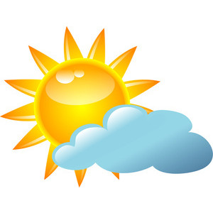 Mostly Cloudy Clipart Gallery