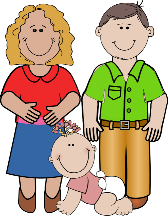 Mother And Father Clipart Free Clipart Images