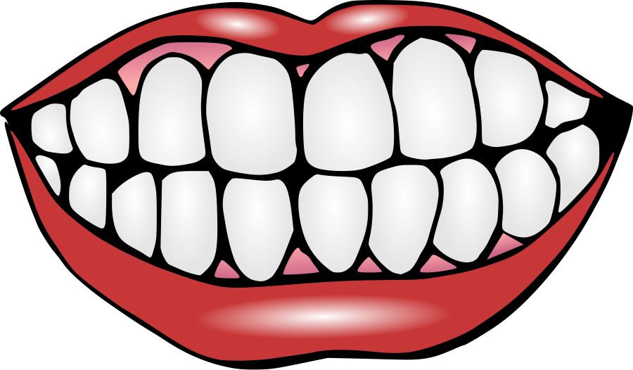 Mouth With Teeth Clipart Free Clipart Images