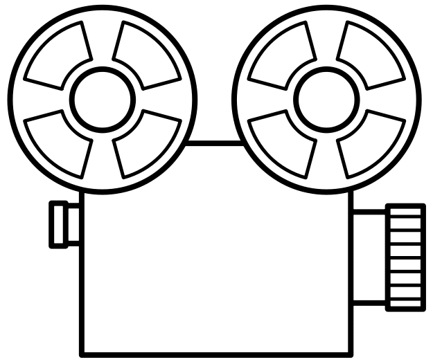 Movie Camera And Film Clipart Free Clipart Images
