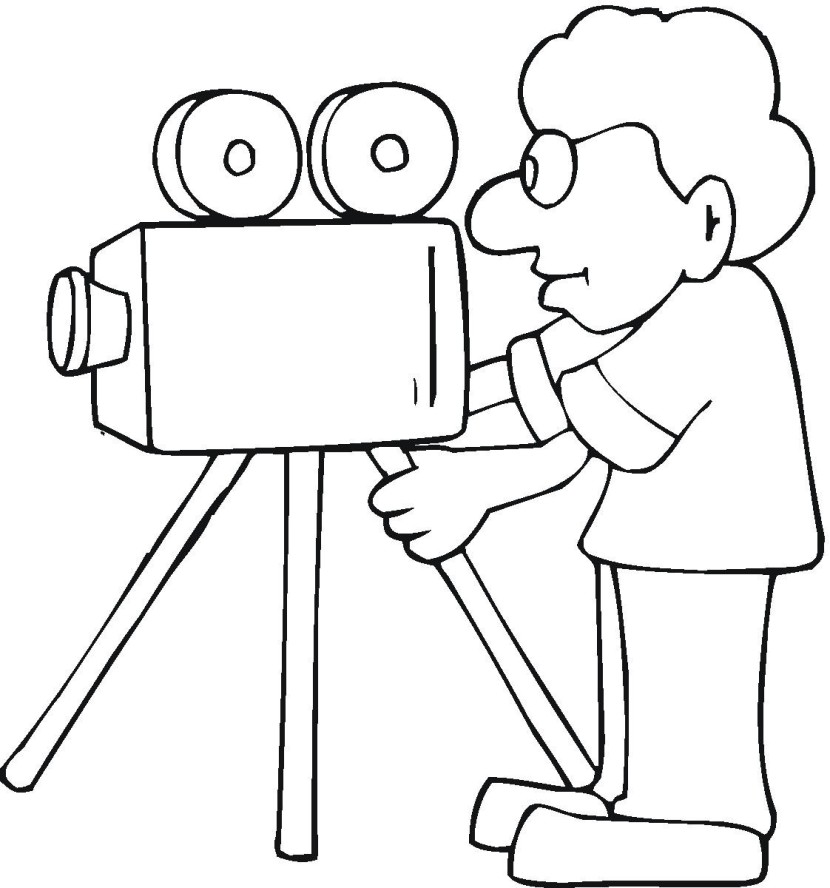Movie Camera Clipart Free Clip Art Images