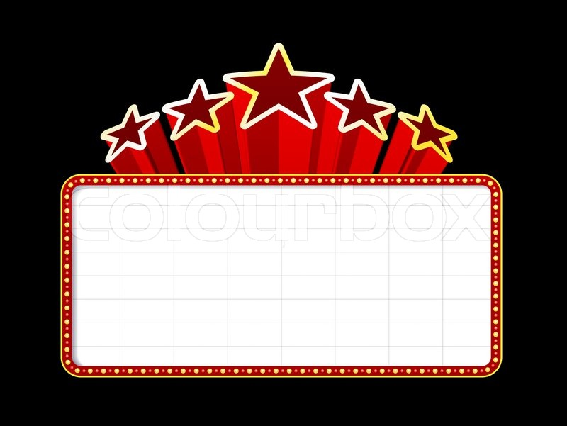 Movie theater clipart clipartioncom for Theatre sign clipart