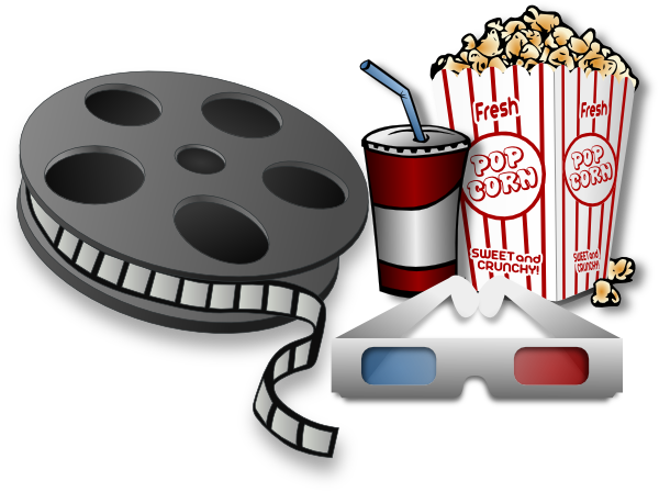 Movie Theater Items Clip Art At Vector Clip Art Online